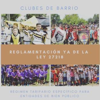 CLUBES DE BARRIO