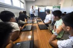 Sala de capacitación de Punto Digital